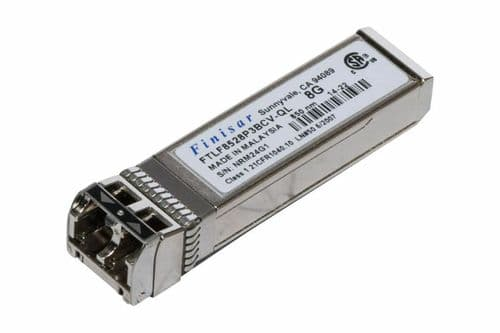 Finisar FTLF8528P3BCV-QL 8Gb 850NM Fiber Channel SW SFP Optical Transceiver